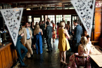 Rose and Crown Wedding Reception